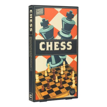 Professor Puzzle Multicoloured Wooden Chess Set-listing