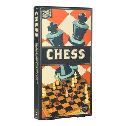 Professor Puzzle Schachspiel aus Holz -listing