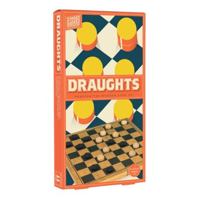 Professor Puzzle Multicoloured Wood Draughts-listing