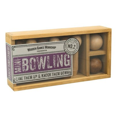Professor Puzzle Multicoloured Mini-bowling -listing
