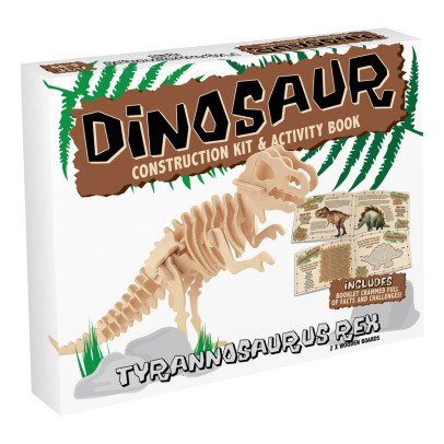 Professor Puzzle Kit de construction T-Rex Naturel-listing