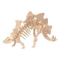 Professor Puzzle Kit costruzioni Stegosauro-listing