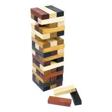 Professor Puzzle Mutilicoloured Toppling Tower Building Game-listing