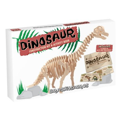 Professor Puzzle Kit de construction Brachiosaure Naturel-listing