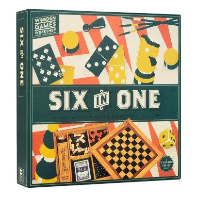 Professor Puzzle Juego de desafío Six in one-product