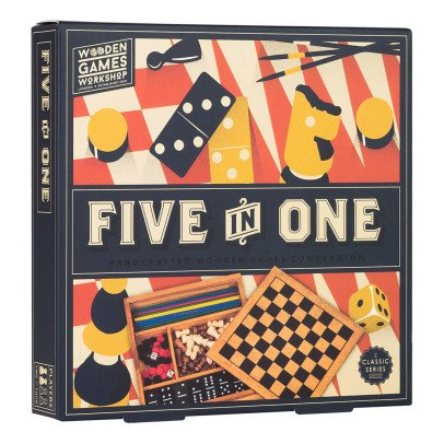 Professor Puzzle Five in One -listing
