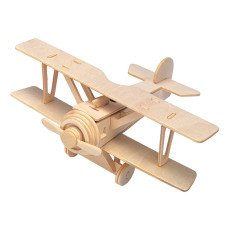 Professor Puzzle Multicoloured Aeroplane Construction Kit-listing