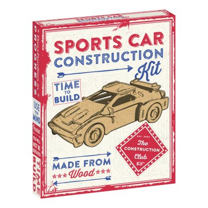 Professor Puzzle Kit de construction voiture de sport Multicolore-listing