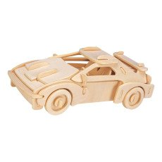 Professor Puzzle Multicoloured Sports Car Construction Kit-listing