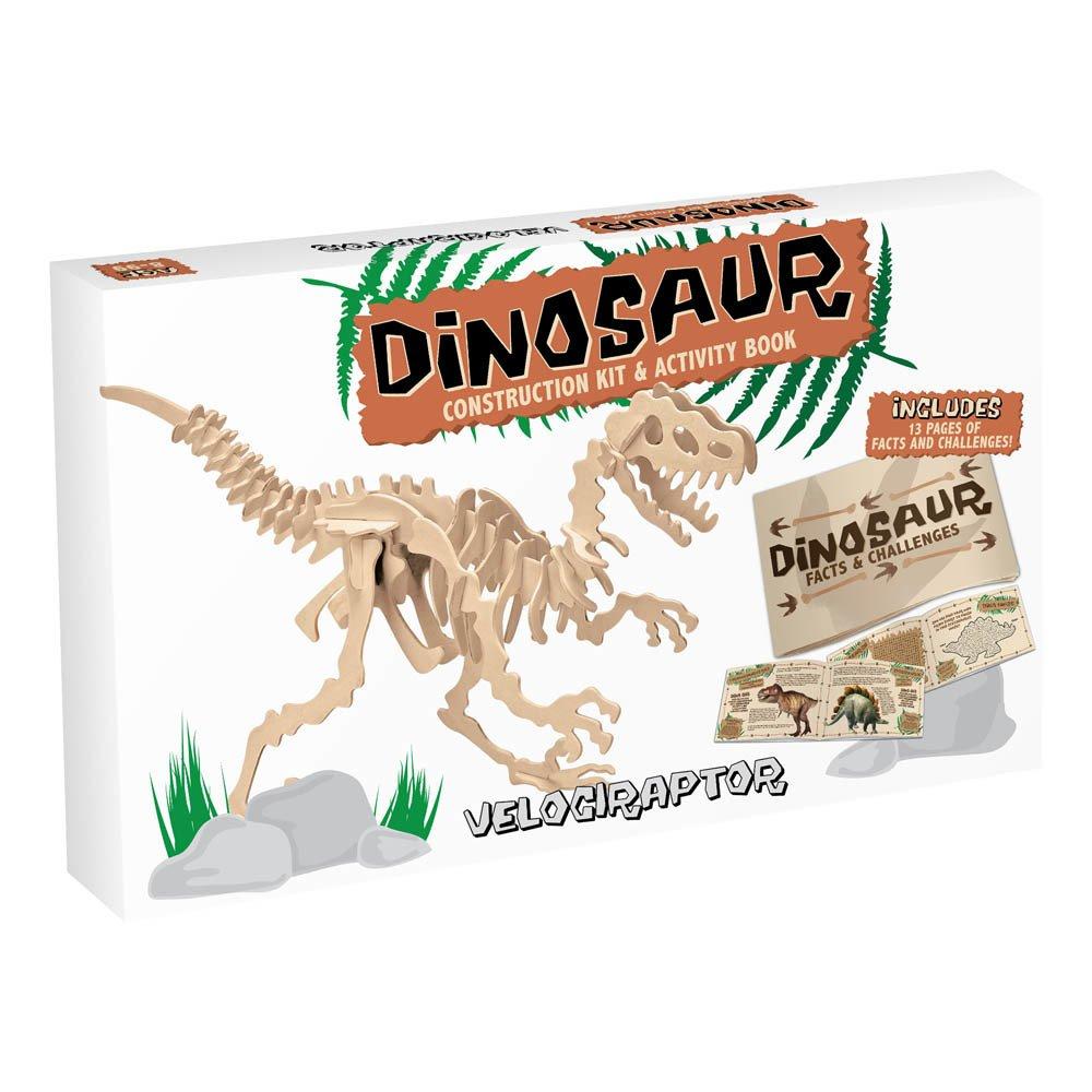 Professor Puzzle Kit de construcción Velociraptor Natural-product