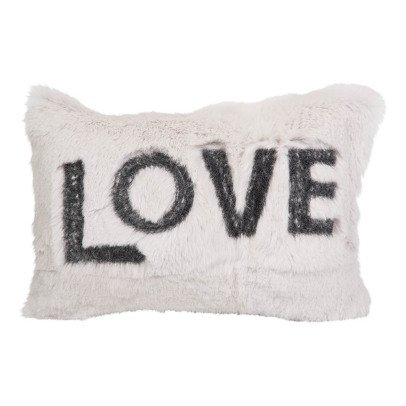 Maison de vacances Turtledove Shaved Rabbit Embroidered Love Cushion-listing