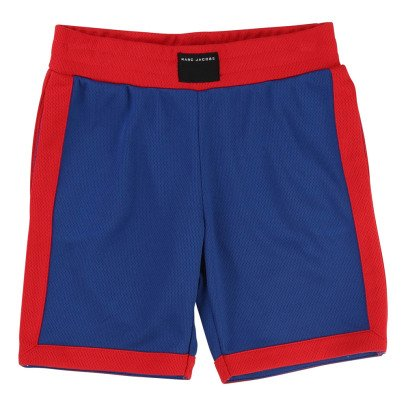 Little Marc Jacobs Two-Tone Basketball Shorts-listing