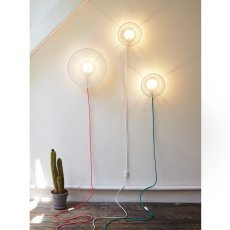 Petite friture Grillo Wall Lamp with Cable-listing