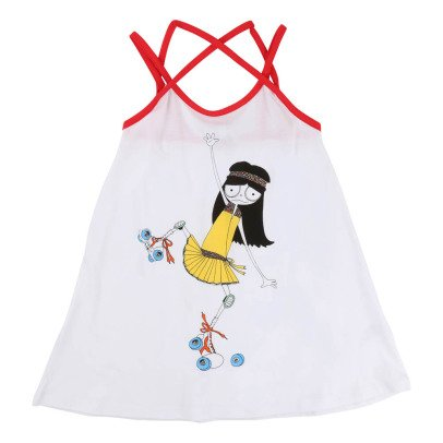 Little Marc Jacobs Rollerblade Miss Marc Beach Dress-listing