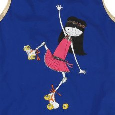 Little Marc Jacobs Rollerskate Miss Marc 1 Piece Swimsuit-listing