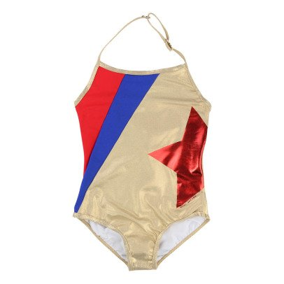 Little Marc Jacobs Iridescent 1 Piece Swimsuit-listing