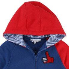 Little Marc Jacobs Hoodie with Zip-listing