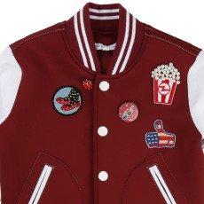 Little Marc Jacobs Pathwork Neoprene Baseball Jacket-listing