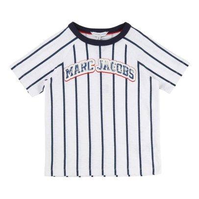 Little Marc Jacobs Striped Baseball T-Shirt-listing