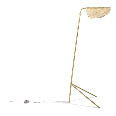 Petite friture Mediterranea Brushed Brass Reading Lamp-listing