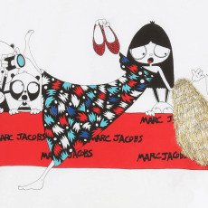 Little Marc Jacobs T-shirt Miss Marc Tapis Rouge-listing
