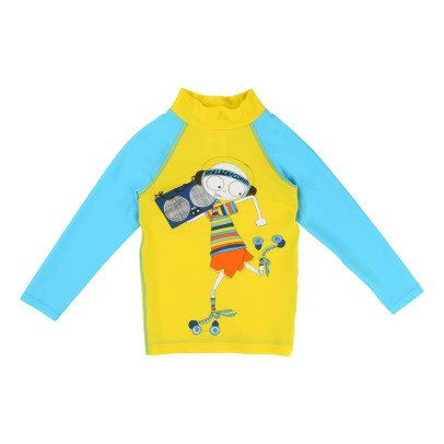 Little Marc Jacobs Rollerblade Mr Marc Two-Tone Anti UV T-Shirt-listing