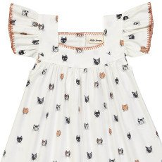 Hello Simone Vestido Cabezas de Gatos Katell-listing