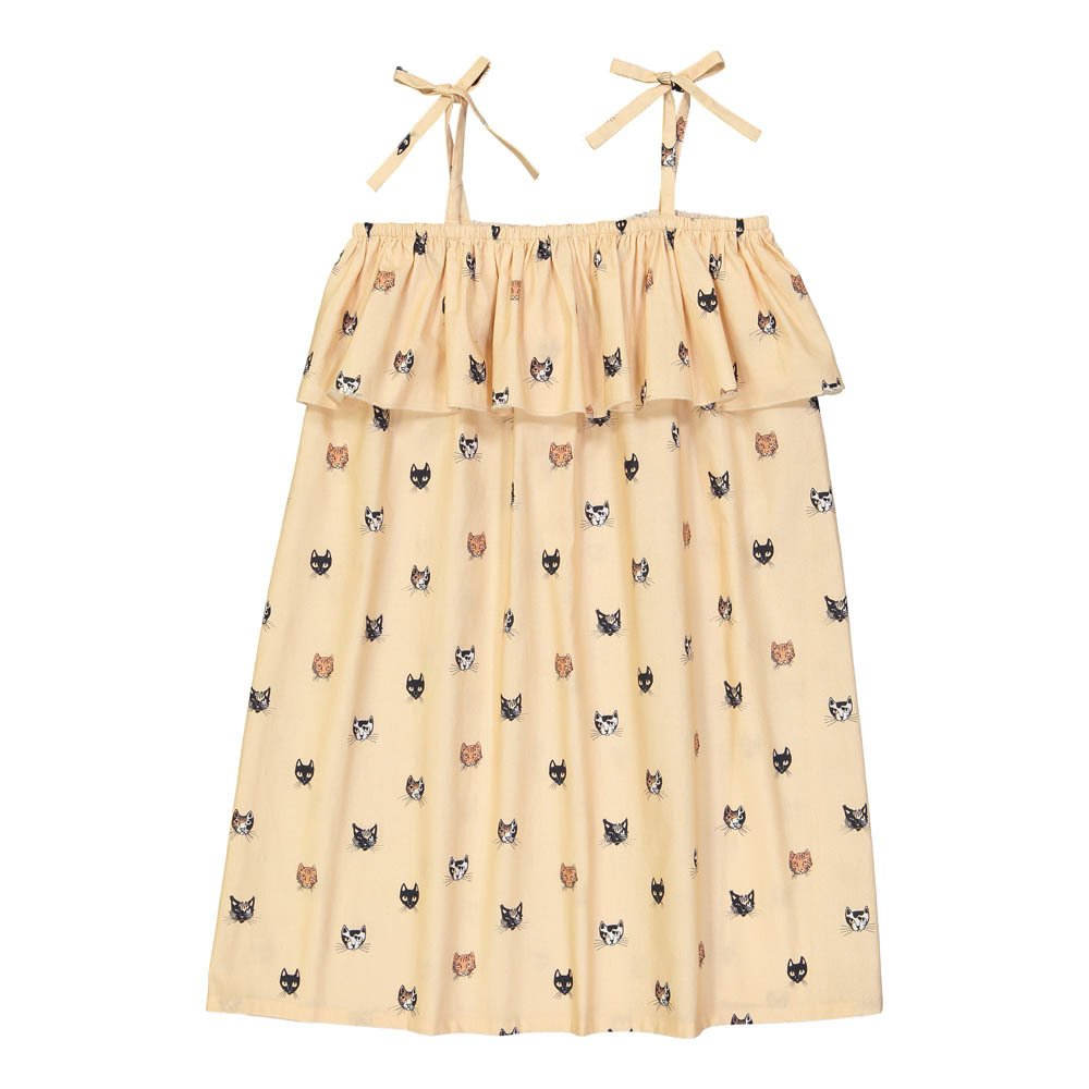 Hello Simone Eurydice Cat Head Sunbath Dress-product