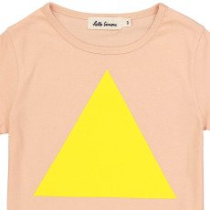 Hello Simone Camiseta Triángulo Pluma-listing