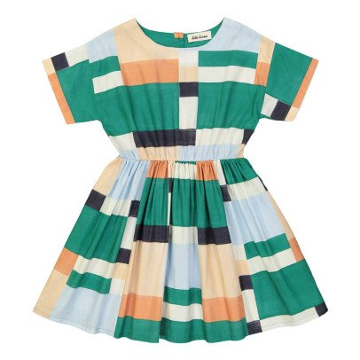 Hello Simone Thao Geometric Print Dress-product