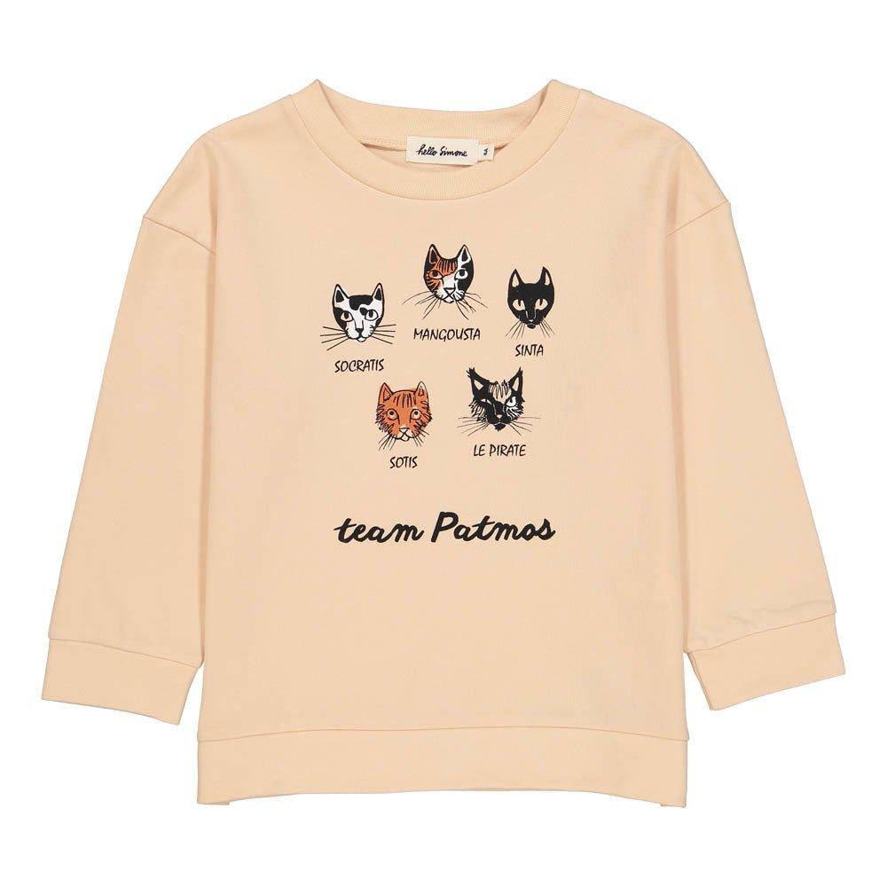 Hello Simone Patmos Cat Sweatshirt-product