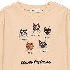 Hello Simone Patmos Cat Sweatshirt-listing