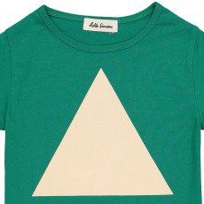 Hello Simone T-Shirt Triangle Plume-listing