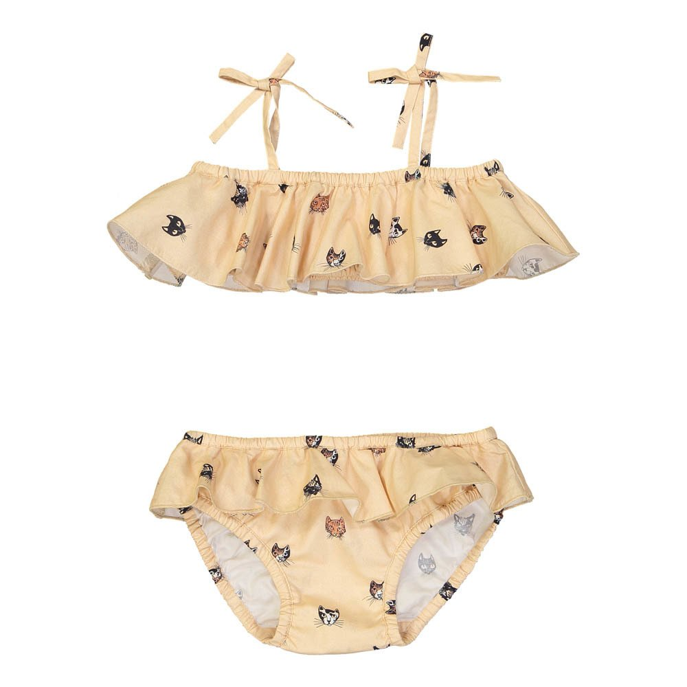 Hello Simone Mimi Cat Heads 2 Piece Swimsuit-product