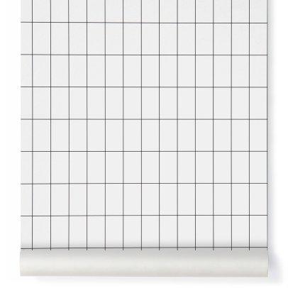 Ferm Living Papier-peint Grid-product