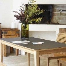 Petite friture Table rectangulaire en chêne 71x142 cm-listing