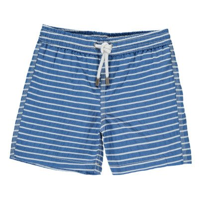 Hartford Achille Striped Swimshorts-listing