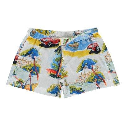 Hartford Salomé Fluid Riviera Shorts-listing