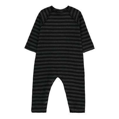 Album di famiglia Striped Buddy Romper Charcoal grey-listing