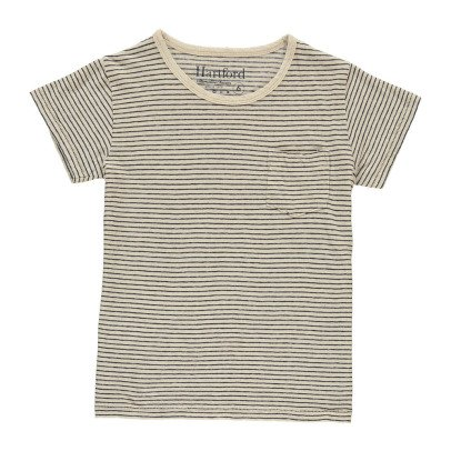 Hartford T-shirt a righe in lino-listing