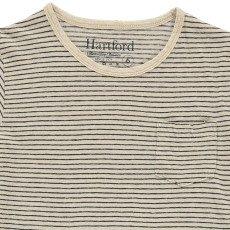 Hartford T-shirt Coton Lin Rayé-listing
