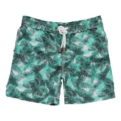 Hartford Archille Palm Leaf Swimshorts-listing