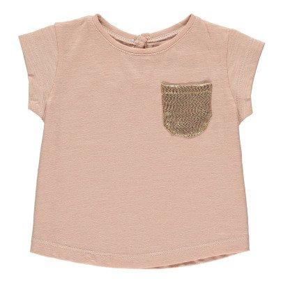 Louis Louise Camiseta Bolsillo Dorado Anaé-listing
