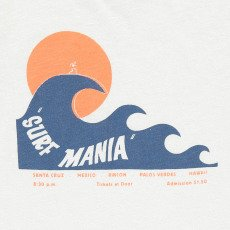 Hartford T-shirt Vague Surf Mania-listing
