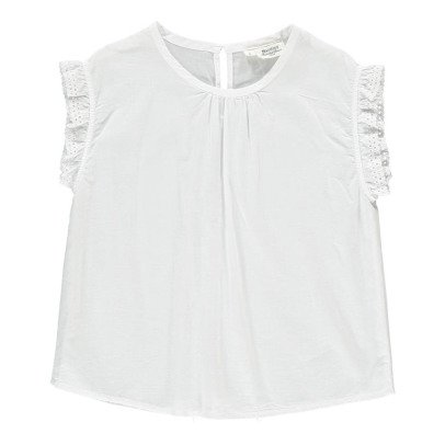 Hartford Habana Embroidered Detail Blouse-listing