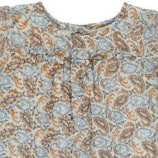 Louis Louise Ester Lurex Cashmere Printed Blouse -product