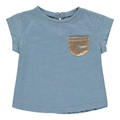 Louis Louise Anaé Gold Pocket T-Shirt-listing