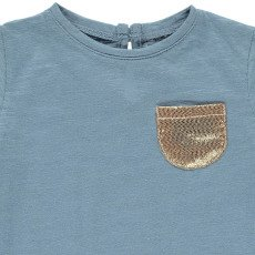 Louis Louise T-shirt Tasca dorata-listing