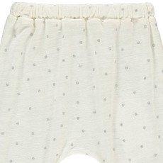 Louis Louise Savane Polka Dot Jersey Harem Trousers-listing