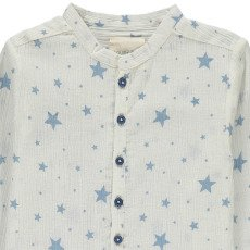 Louis Louise Grandad Cotton Crepe Star Kurta-product